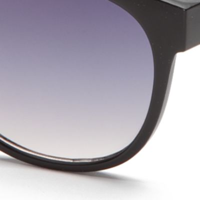 Rectangle Sunglasses: Black TAHARI™ Rectangle Sunglasses