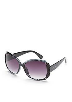 TAHARI™ Glam Rectangle Sunglasses