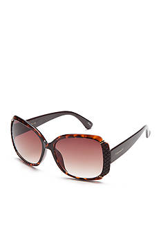 TAHARI™ Glam Rectangle Sunglasses