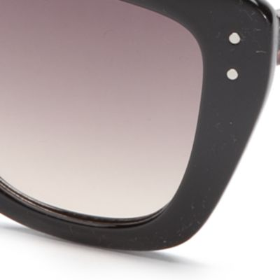 Womens Sunglasses: Grey TAHARI™ Cat Eye Sunglasses