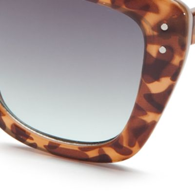 Womens Sunglasses: Tortoise TAHARI™ Cat Eye Sunglasses