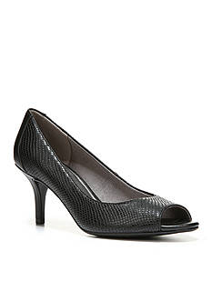 LifeStride Nightly Peep Toe Pump