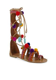 MIA Renata Pom Pom Gladiator Sandals