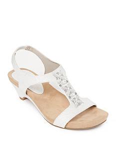 Anne Klein Tandu Jewel T-Strap Sandal