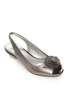 Anne Klein Lesta Sling-Back Flower Sandal