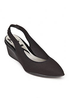 Anne Klein Rampup Wedge Slingback Pumps