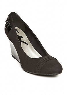 Anne Klein Tee Wedge Pumps