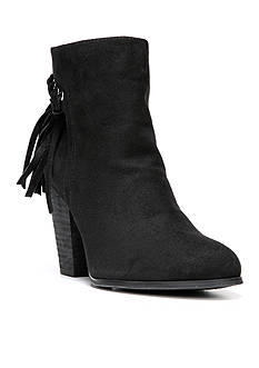 Carlos by Carlos Santana Twilight Fringe Back Bootie