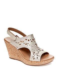 Clarks Pitch Mint Wedge Sandal