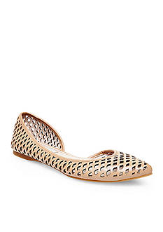 Steve Madden Elaine Perforated Flat