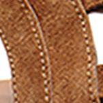 Shoes: Steve Madden Women's: Chesnut Suede Steve Madden Walkitt Lace Up Sandal