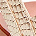 Shoes: Steve Madden Women's: Gold Snake Steve Madden Walkitt Lace Up Sandal