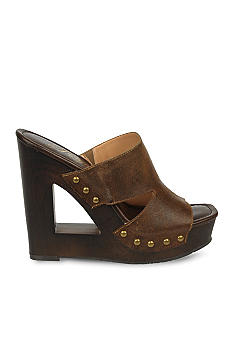 Fergie Panama Wedge Slide