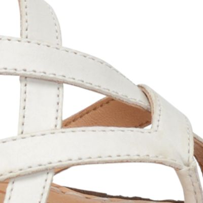 Wedge Sandals for Women: White Born Cammi Sandals