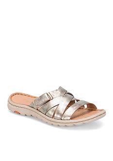 Born Empy Slide Sandal Flat