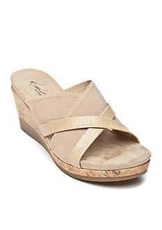 Kim Rogers Gayla Wedge Sandal