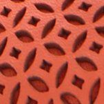 Juniors Flats: Watermelon me Too Livia Perforated Bow Flats