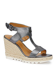 COACH LeeAnne Espadrille Wedge