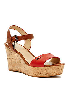 COACH Fran Wedge Sandal