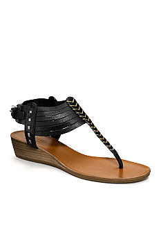 COACH INDIA HUARACHE WEDGE SANDAL