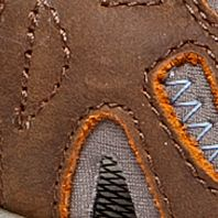 Comfortable Sneakers for Women: Brown Sugar /  Blue Heaven Merrell ALL OUT BLAZE SIEVE