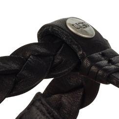 Flat Sandals for Women: Black UGG Australia Bria Sandal