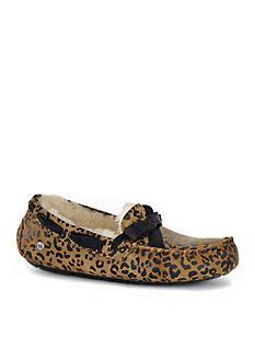 UGG Australia Dakota Bow Leopard Moccasin