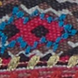 The Sak: Pink Embroidery The Sak Echo Tribal Flat Shoe