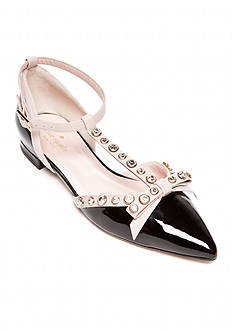 Kate Spade Becca Pointed Toe Ballet Flat - Extended Sizes Available