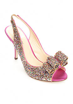 Kate Spade Charm Glitter Pump- Available in Extended Sizes