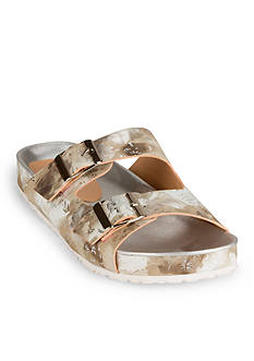 WANTED Bluebell Floral Footbed Sandal
