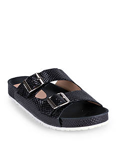 WANTED Cattail Metallic Footbed Sandal