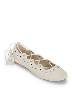 WANTED Jamie Lace Up Ballet Flats