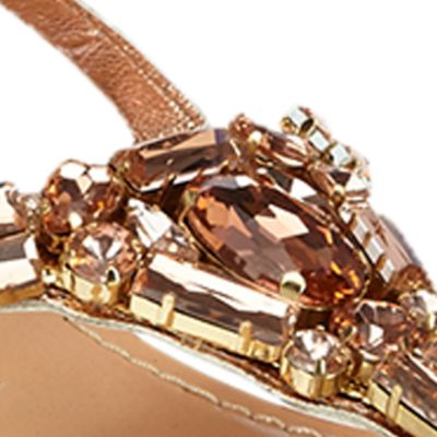 Flat Sandals for Women: Rose Gold Matisse Wizard Sandal