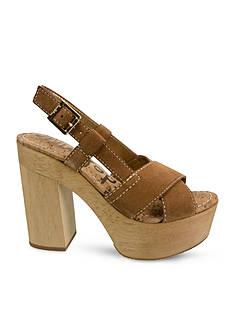 Sam Edelman Mae Platform Wood Dress Heel