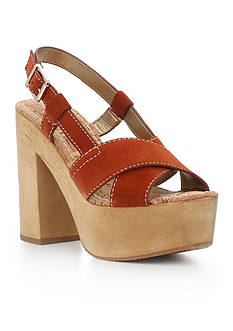 Sam Edelman Mae Platform Wood Dress Heel