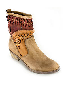 Summit White Mountain Christy Italian Woven Leather Bootie