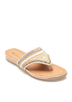 White Mountain Clary Jeweled Sandal