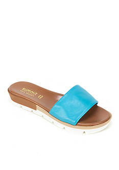 Summit White Mountain Faye Italian Leather Slide