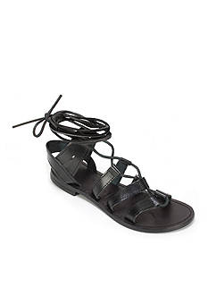 Summit White Mountain Felisha Italian Leather Lace Up Sandal