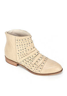 Summit White Mountain Graycen Italian Leather Bootie with Stud and Strap Detail