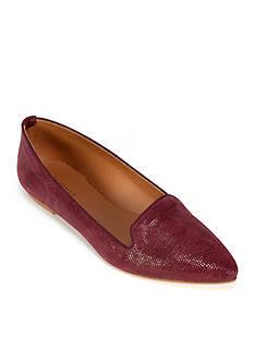 Summit White Mountain Krystal Italian Leather Flat Shoe