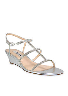Nina Floria Jewel Wedge Sandal