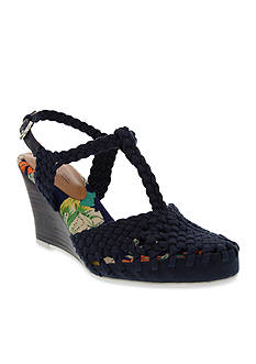 Nina Matrix Wedge Sandal