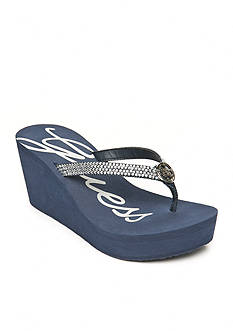 GUESS Sechi Jewel Wedge Sandals