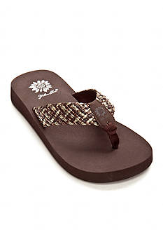 Yellow Box Idalia Flip Flop