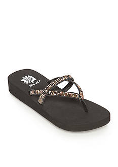 Yellow Box Atlantic Jewel Flip Flop