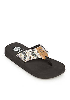 Yellow Box Kaden Fabric Flip Flop