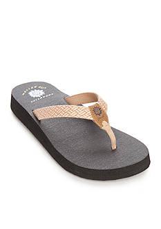 Yellow Box Bindy Flip Flop