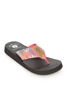 Yellow Box Fenton Flip Flop